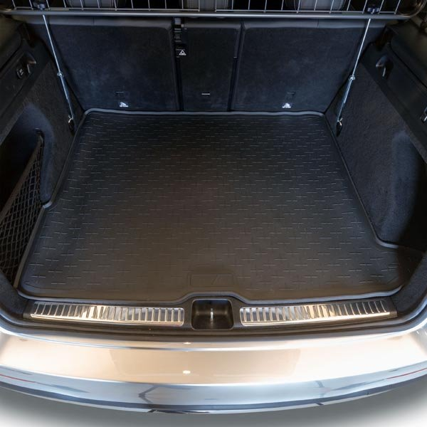 Travall Liner TBM1144 Vehicle-Specific Black Rubber Boot Mat Liner